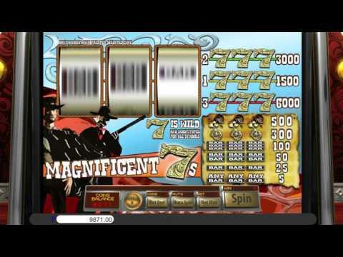 Free Magnificent 7s slot machine by Saucify gameplay ★ SlotsUp