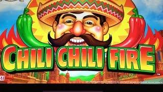 Chilli Chilli  Fire Slot BIG WIN - Konami