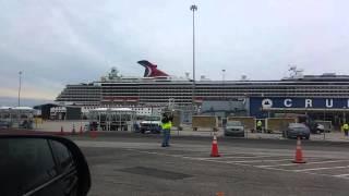 Carnival Pride Cruise Ship - Baltimore Terminal