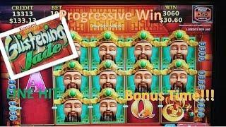•New• Konami Glistening Jade • Jackpot Streams Feature, Line Hit & Slot Machine Bonus
