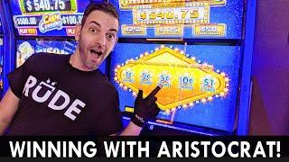 ★ Slots ★ WINNING with Aristocrat's NEW SLOTS ★ Slots ★ GIVEAWAY ★ Slots ★ Check it OUT!! #ad