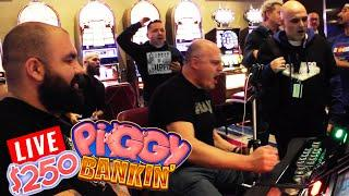Let's BREAK This Bank!! •$250 a Spin • Lock It Link Piggy Bankin' •LIVE! | The Big Jackpot