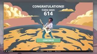 NETENT Jimi Hendrix slot REVIEW Featuring Big Wins With FREE Coins