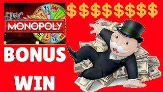 *EPIC MONOPOLY* Slot Machine Bonus * Thunder Valley Casino