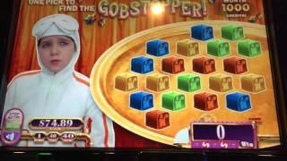 WILLY WONKA Bonus Montages - Hard Rock Casino Vegas