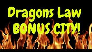 DRAGONS LAW Twin Fever Bonus Scorching Fever Slot Wins