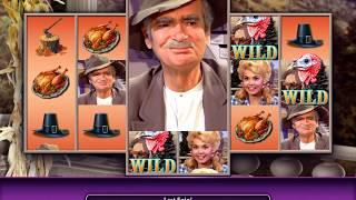 THE BEVERLY HILLBILLIES: TURKEY DAY Video Slot Casino Game with a TURKEY DAY SPIN BONUS