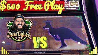 I HIT THE GRAND JACKPOT ON FREEPLAY ! • Mighty Cash Outback Bucks ChangeItUp