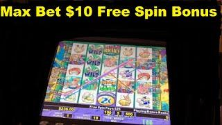 Max Bet $10 Per Spin High Limit Stinkin RIch Action