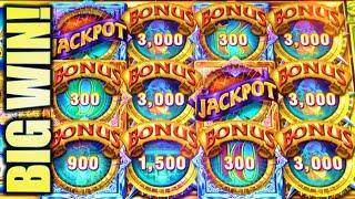 •BIG WIN!• CASH ODYSSEY HUCKLEBERRY FINN Slot Machine Bonus (Ainsworth) REPOST