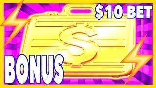 • $10/SPIN Bonus x2 on •️ Lightning Link •️ High Stakes High Limit Slots