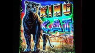 King Cat Slot Bonus with Retriggers at Pechanga Resort and Casino