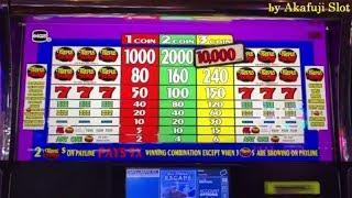 Triple Cherry $1 Slot Machine, Max Bet $3 with Free Play, San Manuel, Akafujislot