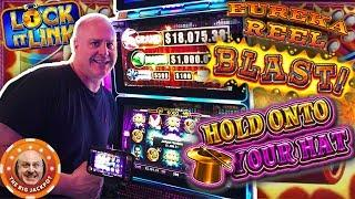 •Hold Onto Your Eureka Blast! •DOUBLE LOCK IT LINK JACKPOTS! •| The Big Jackpot
