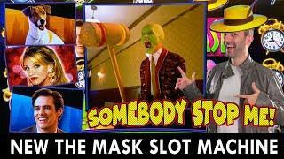 OMG ★ Slots ★ NEW!! The Mask SLOT MACHINE ★ Slots ★ Somebody STOP ME!