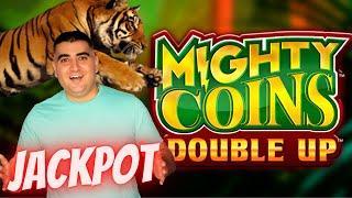 Mighty Cash Double Up Slot Machine HANDPAY JACKPOT | High Limit Slot Machine Jackpot | SE-4 | EP-18