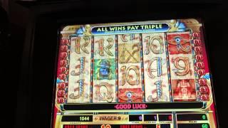 Cleopatra Slot-2 Bonuses & More At Mandalay Bay-good Wins-$1 Denomination!