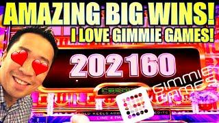 ★ Slots ★JACKPOT WINNER!!★ Slots ★ ★ Slots ★ BEST OF GIMMIE GAMES! Slot Machine (Aristocrat)