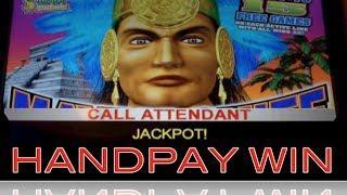 MAYAN CHIEF | KONAMI - JACKPOT HANDPAY! Slot Machine HUGE WIN