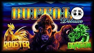 58 BONUS SPINS PLUS FAST FORTUNE PAYOUT! • BUFFALO DELUXE • THE SLOT CATS •