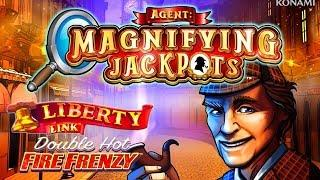 Agent Magnifying Jackpots • Double Hot Fire Frenzy • The Slot Cats •
