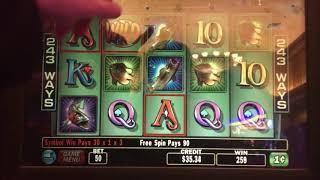BIG WIN - Cash Cove Slot Machine Bonus