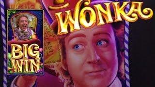 WONKA FREE SPINS #2 : MAX BET BIG WIN - WONKA 3 REEL - WMS SLOT MACHINE