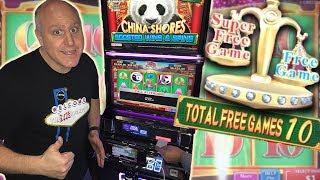 •️SUPER FREE GAMES! •️China Shores Bonus Pays BIG! •| The Big Jackpot