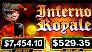 New Game• •INFERNO ROYALE• Ainsworth free spins