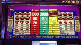 Little profit•Old School Slot Triple Cherry Dollar Slot Machine Max Bet $3, San Manuel, Akafujislot