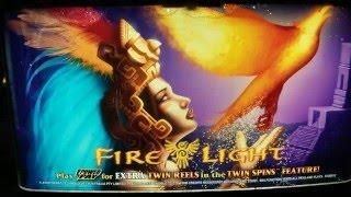 Fire Light Slot Bonus and BIG Retrigger and Very NICE WIN at Pechanga Resort and Casino