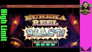 High Limit Eureka Blast Slot Machine Jackpot Handpay