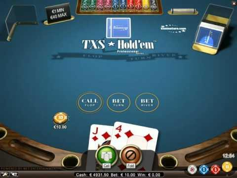 Texas Hold'em - The Virtual Games