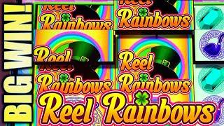 •BIG WIN!• REEL RAINBOWS AWESOME COMEBACK! Slot Machine Bonus (SG)