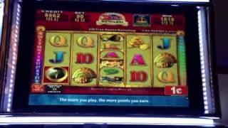 Quest for Riches - Konami slot machine bonus win