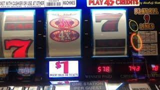 Big Profit on Free Play• Super Times Pay $1 Slot - Bet $18 [LIVE]@ Pechanga アカフジ スロット, カジノ, 赤富士