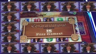WIFE GETS 1ST JACKPOT OF 2019! HIGH LIMIT CAPTAIN CUTTHROAT!