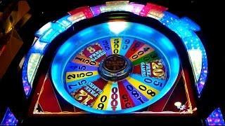 Wheel of Fortune Wild Red Sevens Slot *BACKUP SPIN SUCCESS* Bonus!