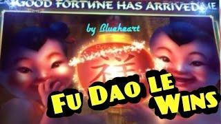 FU DAO LE slot machine Progressive jackpot/ Max bet BONUS WIN!
