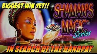 Shaman's Magic Series •In Search of the Handpay! • Episode 4