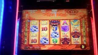 Slot bonus win on Heaven and Earth at Sands Casino in Bethlehem, PA.