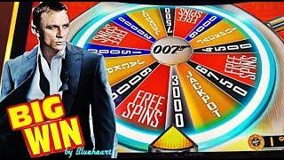 JAMES BOND THUNDERBALL slot machine WINS and CLEOPATRA GOLD slot BONUS WIN!