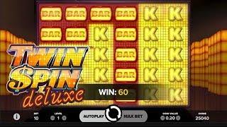 Twin Spin Deluxe Online Slot from NetEnt
