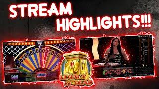 Live Casino Table Action!! Stream Highlights!!