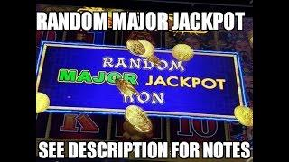 RANDOM MAJOR JACKPOT WIN Lightning Link Happy Lantern Slot Machine Won without Bonus