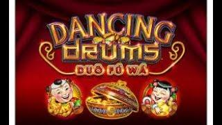 •BEATING THE DRUM• - Live Play and Bonus Win | DANCING DRUMS