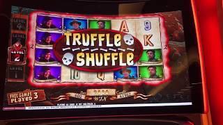 SLOT MIX - Bonus wins on Tarzan Grand, Tall Fortunes, Dancing Drums, Goonies, & more