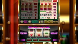Simbat IGT Triple Diamond 1 Slot Machine Triple Bars