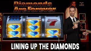 • DIAMOND 007 Progressive JACKPOT!  • + Fun TARZAN Action