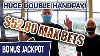 ⋆ Slots ⋆ HUGE DOUBLE HANDPAY from $52.80 MAX BETS ⋆ Slots ⋆ My FORTUNES RISE on RISING FORTUNES